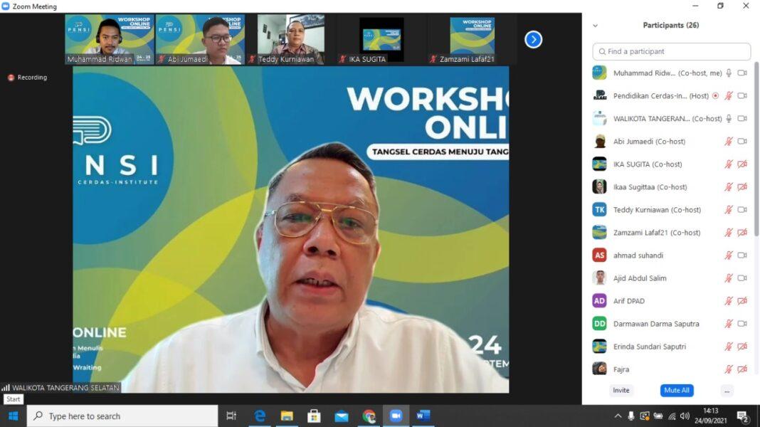 Workshop online PENSI